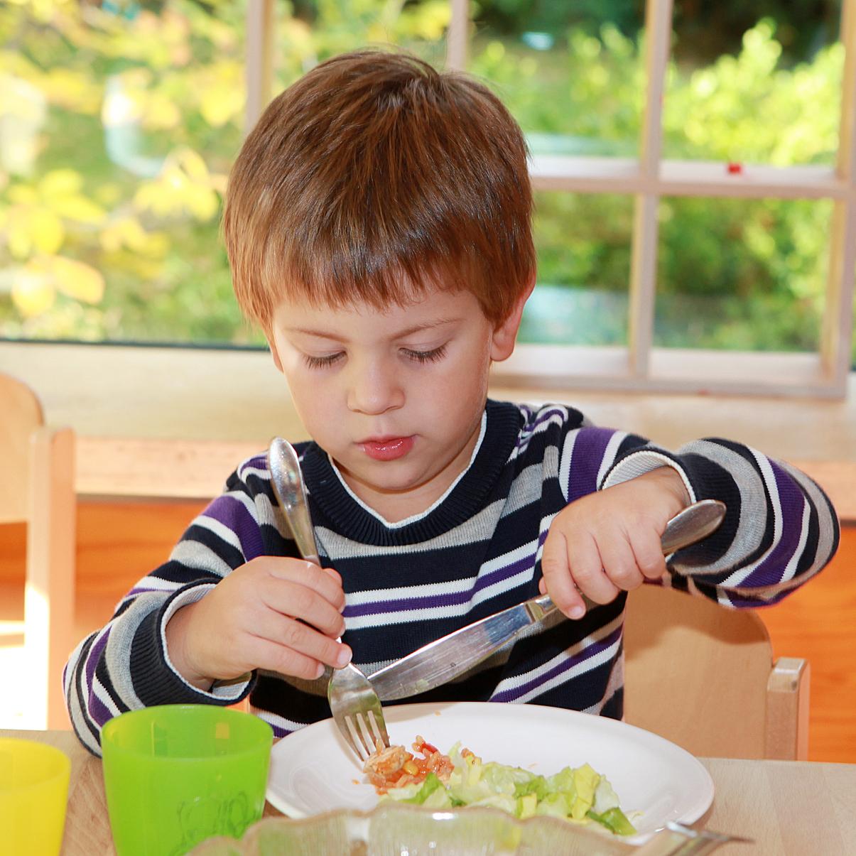 Essen im Kindergarten